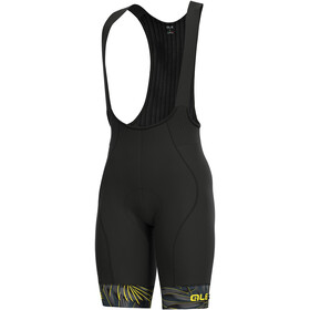 Alé Cycling Graphics PRR Sunset Bib Shorts Herre black-yellow flou